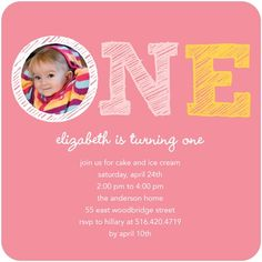 Birthday Party Invitations Silly Sketch - Front : Watermelon