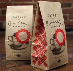 graphic design, coffee beans, brown bags, coffee cans, coffee packaging, cafe food, bag design, coffe packag, coffee bags