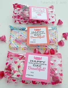 You Are Beautiful Valentine Printables at Tatertots & Jello