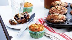 Blueberry Oat Muffins - Recipe