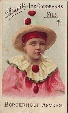 The smoking clown.