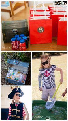 Everything you need to throw a pirate-themed birthday party for kids!