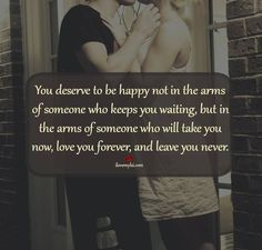 Know what you deserve.
