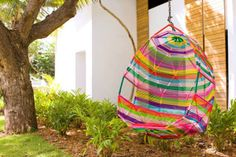 Cozy rainbow swing at @ W Vieques