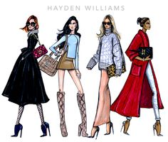 High Calibre, Second Skin, Sweater Weather & Red Blooded Woman by Hayden Williams.