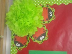 So now I'm thinking I'll add lime green to my red/black polka dot classroom!  Love it!