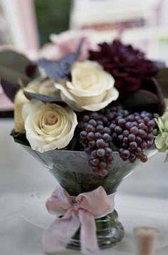 grape centerpiece