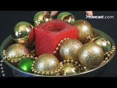 How to Make Simple Christmas Centerpieces