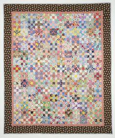 quilt tini, border print, crumb quilt, scrap quilt