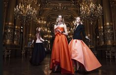 DARIA STROKOUS AND ISELIN STEIRO STAR IN DIOR FALL 2013 CAMPAIGN BY WILLY VANDEPERRE