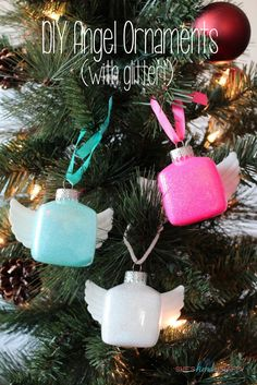 Adorable DIY glitter