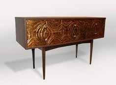 Bellarmine Mid Century Side Table by Omforme on Etsy, $675.00