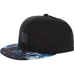 Blue printed peak 88 trucker hat - hats - accessories - men