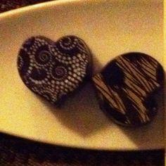 Chocolate heart!