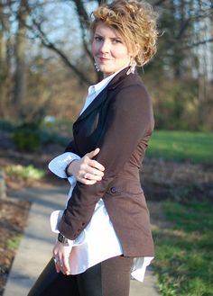 DIY Tuxedo Jacket by Stacie Stacie Stacie, via Flickr