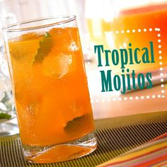 Tropical Mojitos Recipe - Campbell's Kitchen