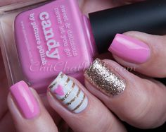 piCture pOlish 'Candy' mani art creation by Chit Chat Nails!  Buy on-line now: www.picturepolish.com.au
