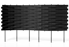 Weave screen, black collect, background, design