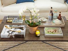4 steps to arranging a beautiful coffee table