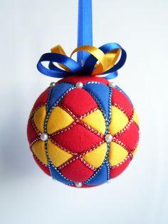 Kimekomi Christmas Ornament.