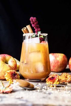 10 Fall Cocktails So
