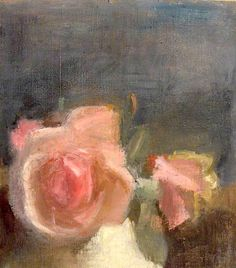 Pink Roses by Victor Pasmore