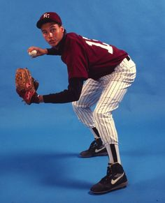 Derek Jeter as a high school ALL-USA shortstop at Kalamazoo (Mich.) Central in 1992.