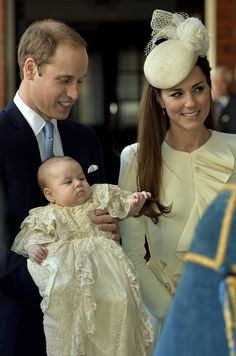 Prince George Alexander Louis of Cambridge was baptized into the Church of England Wednesday in a small private ceremony at St. James Palace...