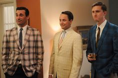Mad Men. Sport Coats. Circa 1966