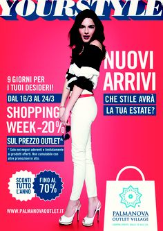 #Shopping Week Marzo 2013