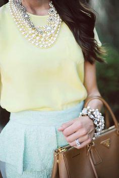 Pretty in pearls!