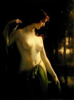 Otto Lingner - Water nymph