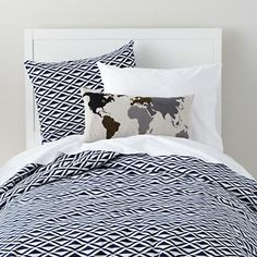 Faculty Graphic Mixer in Boy Bedding