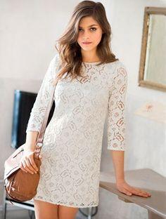 lace dress http://www.laredoute.gr/SOFT-GREY-Forema-apo-dantela_p-254242.aspx?prId=324412643