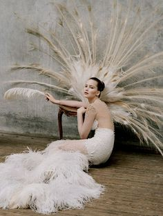 "queenbee1924:    Jennifer Lawrence in ""Gen W"" by Tim Walker for W … 