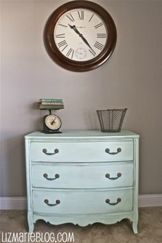 Robin egg blue dresser ...love