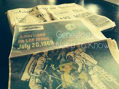 7 #Genealogy Things You Need to Know Today, Sunday, 20 Jul 2014, via 4YourFamilyStory.com. #needtoknow #familytree