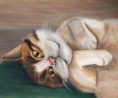 Watercolor Pet Portrait Tutorial - watercolor - based off of a photo. How to transfer & paint a pet portrait. watercolor instruct, draw, watercolor pet, pet portraits, portrait howto, art, pets, craft idea, paint