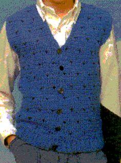 Crochet Patterns For Childrens Vests : Crochet Child Clothing on Pinterest 118 Pins