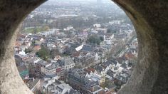 Vista desde la torre the #Utrecht, #TheNetherlands