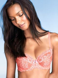 For your most natural shape. The Body by Victoria Unlined Demi Bra.