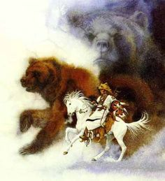 "Bev Doolittle. ""Two Bears of The Blackfeet""   1986"
