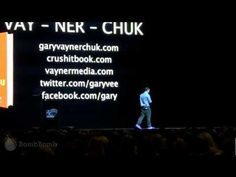 [ Apologies - this video was requested not to be shared by the producers of the event ]    Great presentation from Gary Vaynerchuk (www.garyvaynerchuk.com) - Tuesday morning Super Session in the MGM Grand Garden Arena  |  BombBomb Video Email Marketing Software: www.BombBomb.com