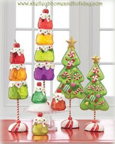 Candy Tree from RAZ Imports shelley b home and holiday holiday, candy trees, chocolates, candi christma, candi tree, christmas decorations, candies, christma decor, christmas decorating ideas