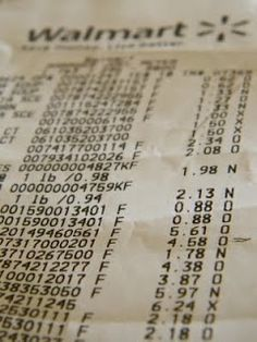 How to feed a family of 6 on $200 a month, with example menus, shopping lists and amount spent on each item.
