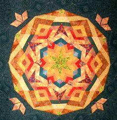 Kaleidoscope Wall Quilt