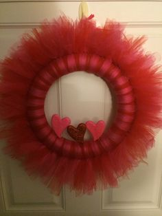 Easy Valentines Day Wreath