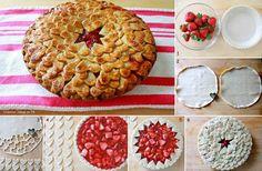 Cute pie crust idea