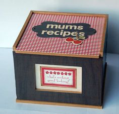 recipe box!