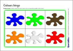 Colours bingo (SB2456) - SparkleBox